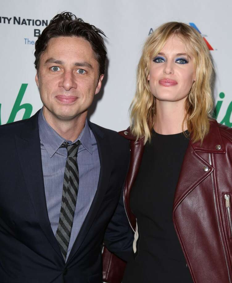 "Former ""Scrubs"" star Zach Braff and model Taylor Bagley dated for 5 years before splitting in 2014. Photo: Walter McBride, WireImage"