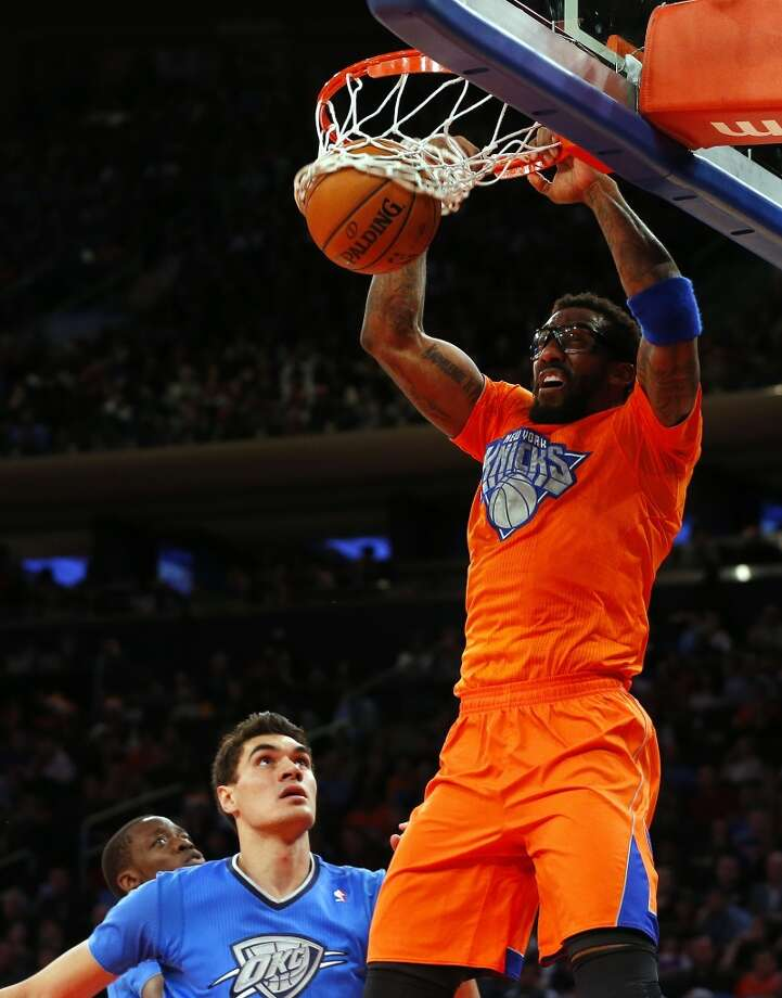 Amar'e Stoudemire led the Knicks in scoring with 22 points off the bench. Photo: Rich Schultz, Getty Images