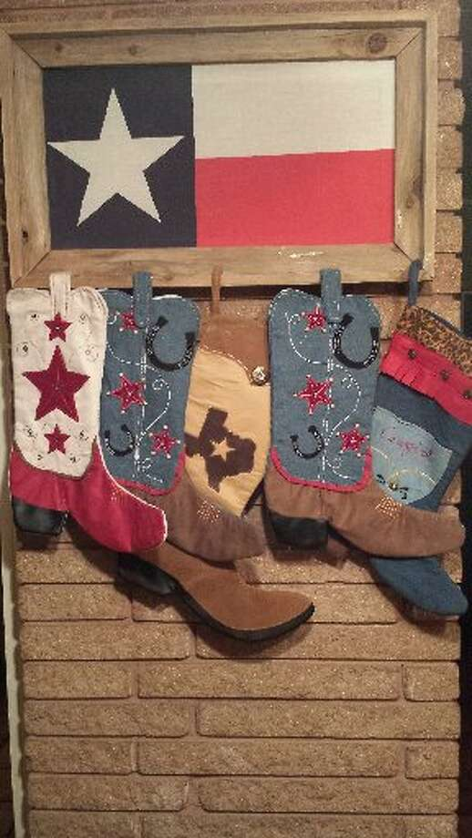 "Rosanne Carrillo: ""I love decorating my home with a 'Texas theme.' I have purchased many of the items from local Texas stores. The Texas rustic theme really gives my home that awesome Texas hospitality feeling. Merry Christmas, y'all."" Photo: Courtesy Photo"
