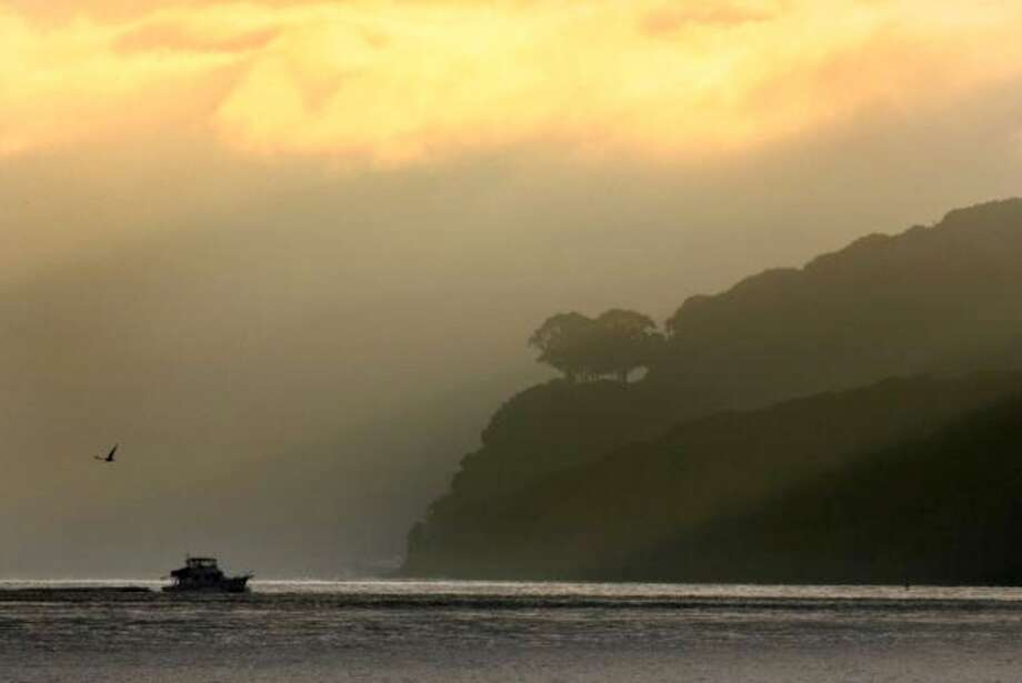 Angel Island State Park will be closed the weekend of December 20 and 21.