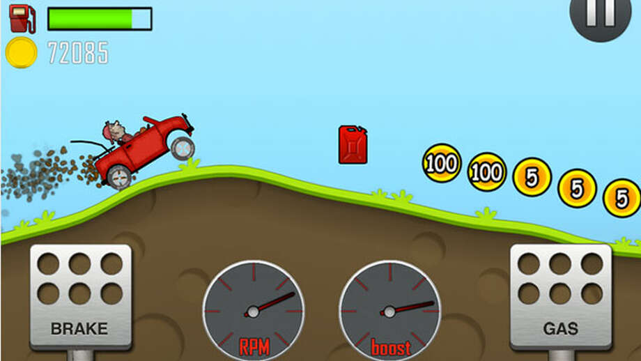 Players will play as Newton Bill, an aspiring uphill racer. Help Newton Bill on his journey and make sure he conquers the highest hills up on the moon. Players must drive through bumpy landscapes without flipping over. Gain bonuses from doing tricks and collect coins to upgrade parts to your car including the engine, suspension, tires and 4WD. You can download Hill Climb Racing Android app from the Google Play Storehere.