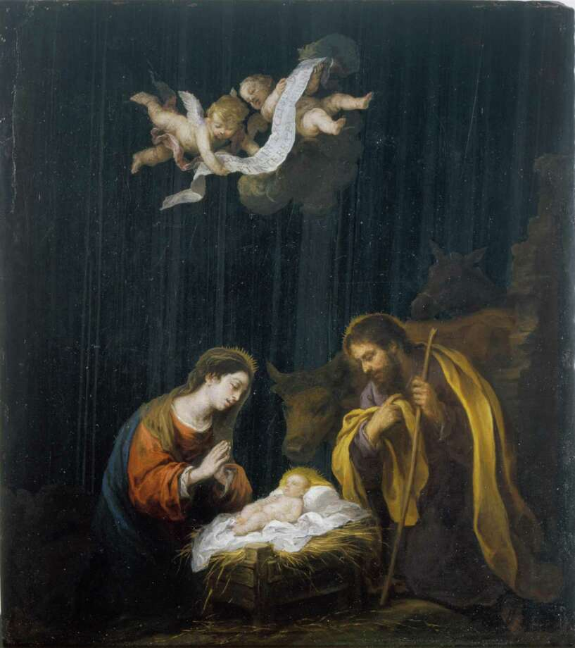 "Another painting by Bartolomé Esteban Murillo's ""The Nativity,"" circa 1665-1670, depicts the Holy Family, including Joseph. / handout"