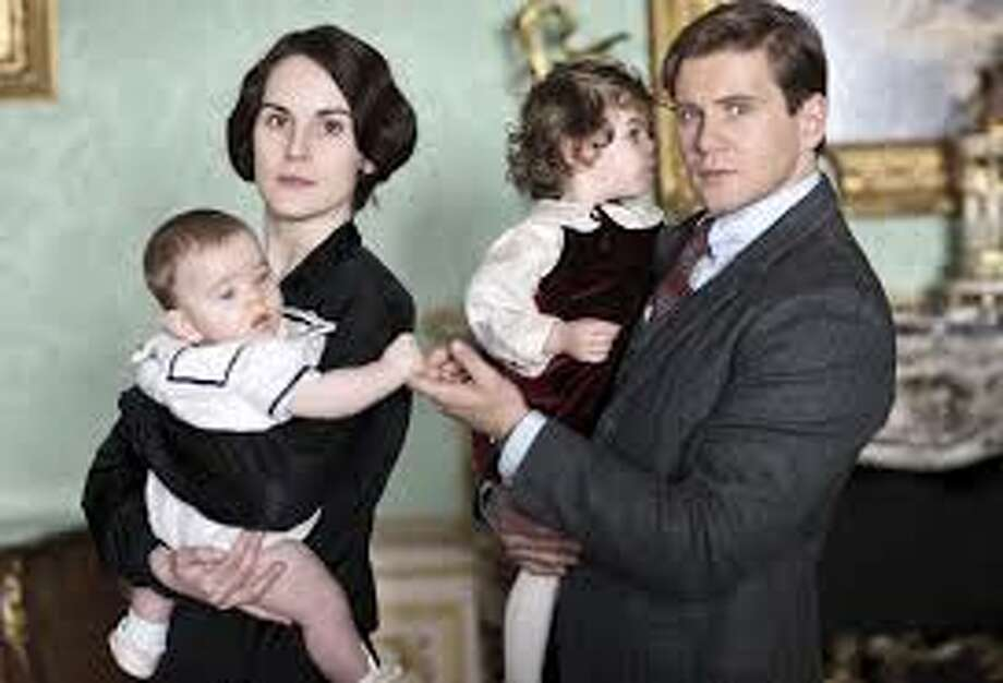 Michelle Dockery as Lady Mary and Allen Leech as Branson dive into their single parent roles. Photo: Masterpiece