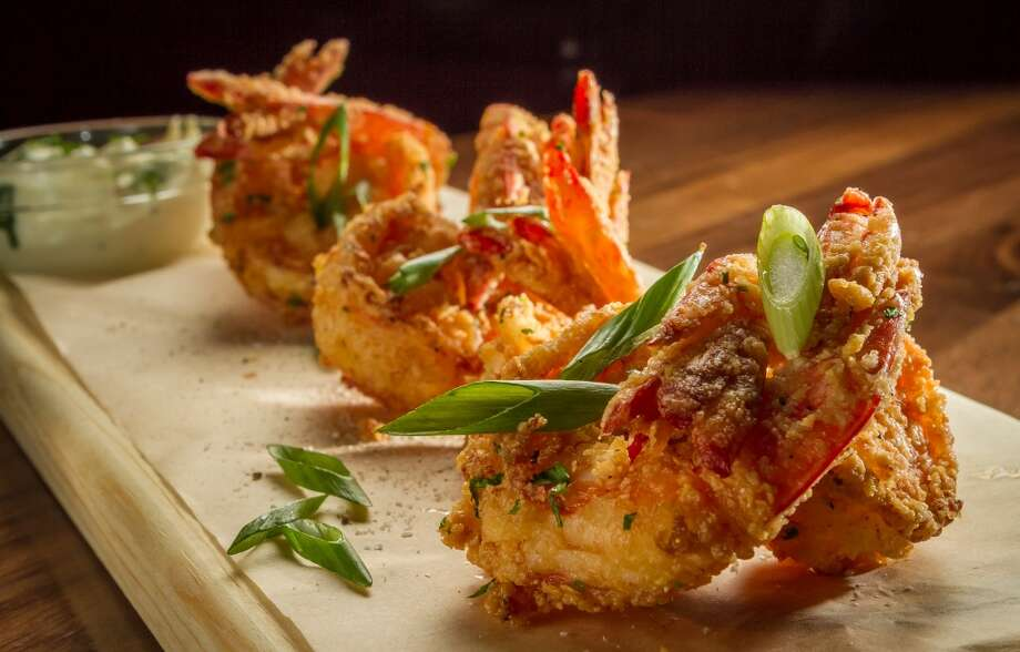 The Salt & Pepper Wild Prawns at Paul Martin's American Grill in San Mateo. Photo: John Storey, Special To The Chronicle