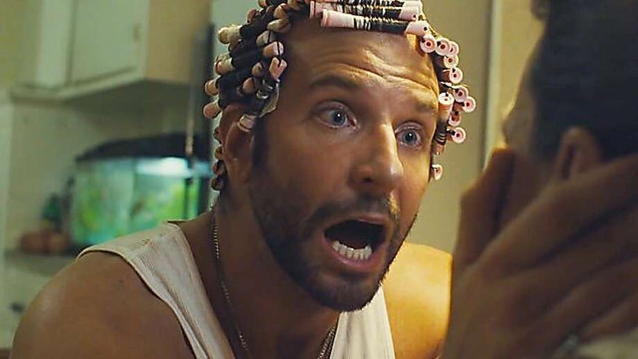 "Bradley Cooper gets his second nomination in two years for his role in ""American Hustle."" He would definitely win ""best perm"" if that were a category.  Photo: Sony Pictures 2013"