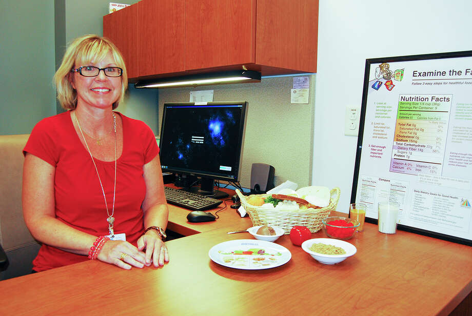 Ronda Elsenbrook, registered dietitian for Kelsey-Seybold Clinic Photo: Kelsey-Seybold