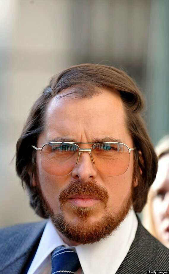 "Christian Bale has a comb-over in ""American Hustle."" Photo: Sony Pictures 2013, Getty Images"