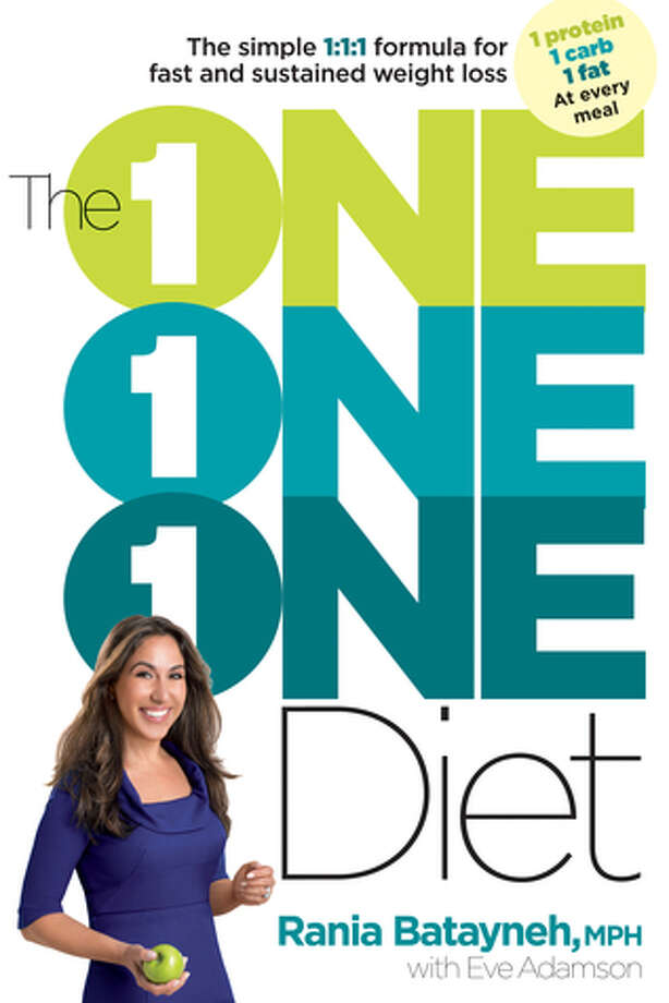 The 1:1:1 Diet,  by Rania Batayneh with Eve Adamson (Rodale; $25.99) Photo: Book Cover