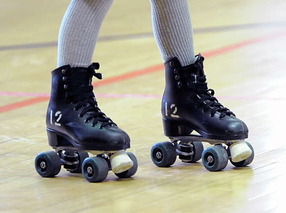 Greenwich Department of Parks and Recreation's Roller Skating Party at the Western Greenwich Civic Center in Glenville, Thursday, Dec. 26, 2013. Photo: Bob Luckey / Greenwich Time