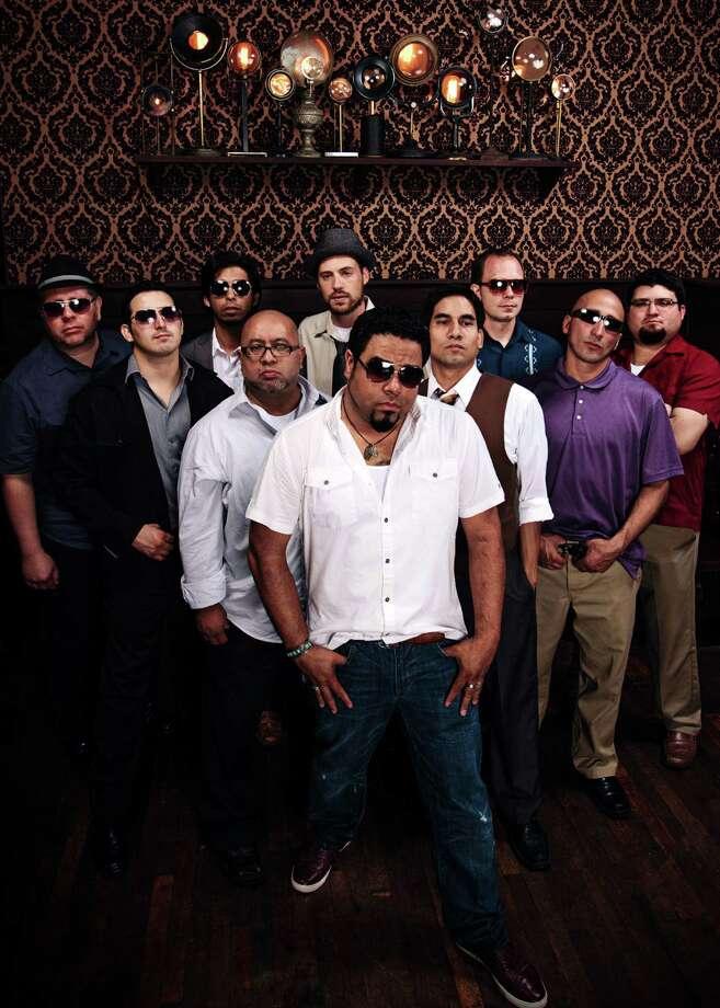 "Sam's Burger Joint presented a unique collaborative night of Latin music on March 1, with Bombasta, the ""Barrio Big Band"" (above) and Radio La Chusma from El Paso. Photo: Joshhuskin.com / www.joshhuskin.com"