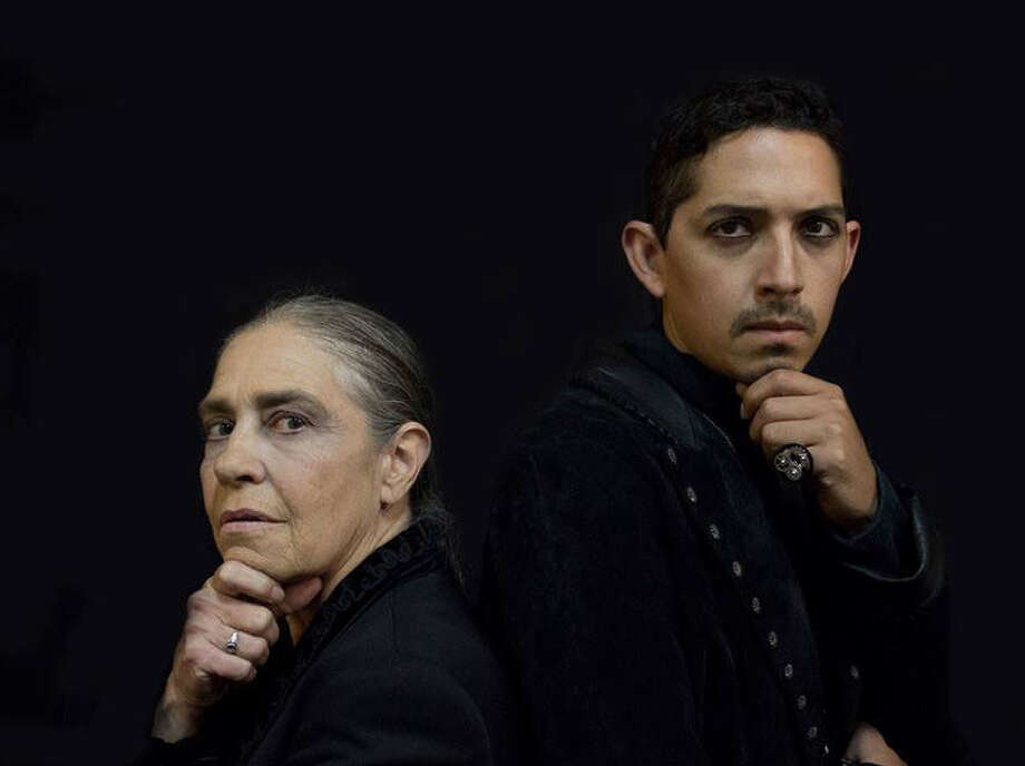"""Linda Ford (left) and Billy Muñoz shared the role of """"Hamlet"""" in """"Method & Madness: Hamlet 2013."""" Photo: Courtesy Rick Malone"""