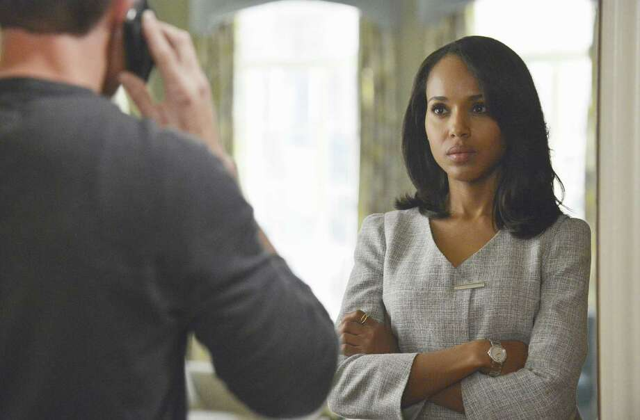 "Kerry Washington as Olivia Pope helped give ABC's ""Scandal"" its alluring plot twists in 2013. Photo: ABC / American Broadcasting Companies,"
