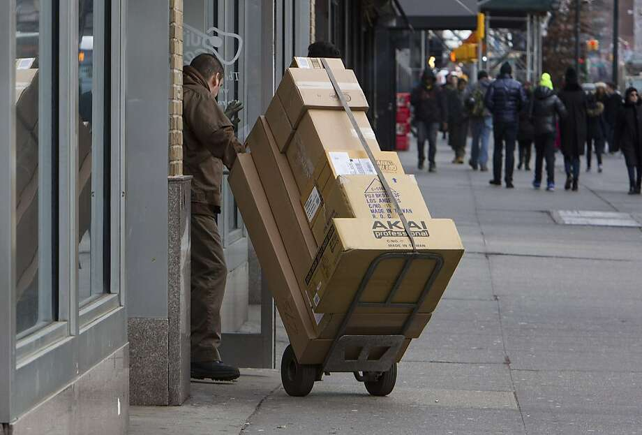 UPS missed delivery of some packages in time for Christmas. Photo: Ruth Fremson, New York Times