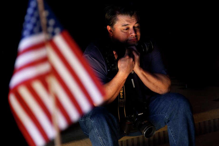 Billy Calzada, Express-News photographer Photo: NICOLE FRUGE, Express-News / nfruge@express-news.net