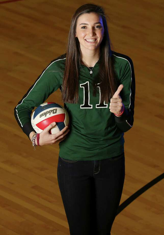 Ashlie Reasor, Reagan outside hitterHeight:6-1Grade: SeniorBest performance: Had 37 kills, 11 digs, 31/2 blocks and three aces in a five-set loss to Churchill in Region IV-5A final.Notable: Named to the AVCA Under Armour All-America first team. ... Texas Girls Coaches Association Class 5A-4A Athlete of the Year for volleyball. ... Outstanding hitter at North East tournament and all-tournament at Pearland Invitational and Leander tournament. ... Super Team selection last year. ... Signed with Texas A&MAlso considered for E-N honor: Brianna Sotello, O'Connor Photo: San Antonio Express-News / © 2013 San Antonio Express-News