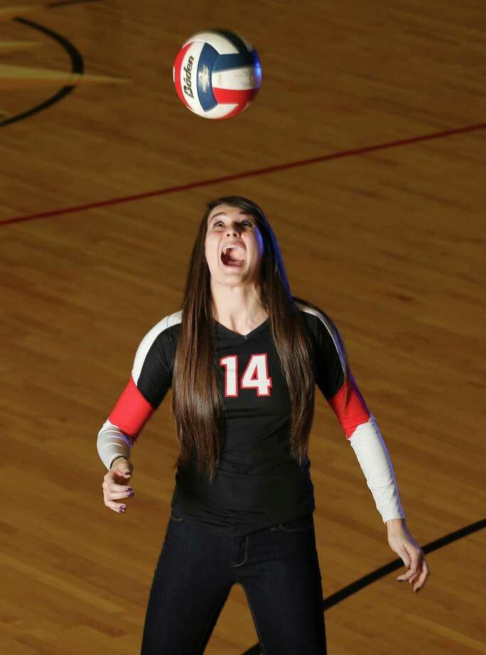 Abby Buckingham, Churchill outside hitterHeight:6-1Grade: SophomoreBest performance: Had 28 kills, a .394 hitting percentage and 24 digs to lead the Chargers to a four-set victory over Southlake Carroll — ranked No. 3 in nation — in the Class 5A state semifinals.Notable: MVP of the North East tournament after leading the Chargers to their first title at the event since 2005, beating Class 5A state semifinalist Cy Falls in the final. ... All-tournament at UIL 5A state tournament, Pearland Invitational and Smithson Valley's Mizuno Texas Showdown. ... E-N Newcomer of the Year in 2012. ... Committed to Texas.Also considered for E-N honor: Brianna Sotello, O'Connor Photo: San Antonio Express-News / © 2013 San Antonio Express-News