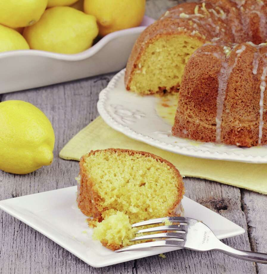 Adams lemon velvet cake uses the company's extracts Photo: Courtesy Photo