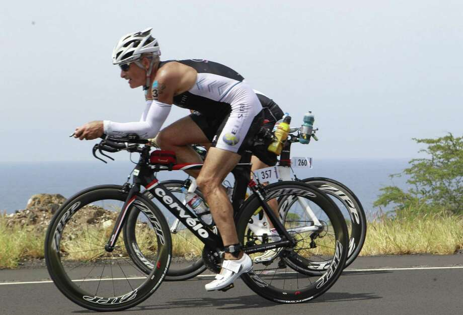 Greenwich resident Michael Christie placed 25th in his age group at the Ironman World Championships in Hawaii. His top 25 finish earned him a spot in the Ironman World Longcourse Championship in China. Photo: Contributed, Contributed / Greenwich Time
