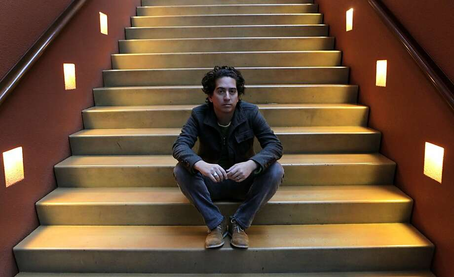 """San Francisco novelist and journalist Daniel Alarcón is author of the new book """"At Night We Walk in Circles."""" Photo: Paul Chinn, The Chronicle"""