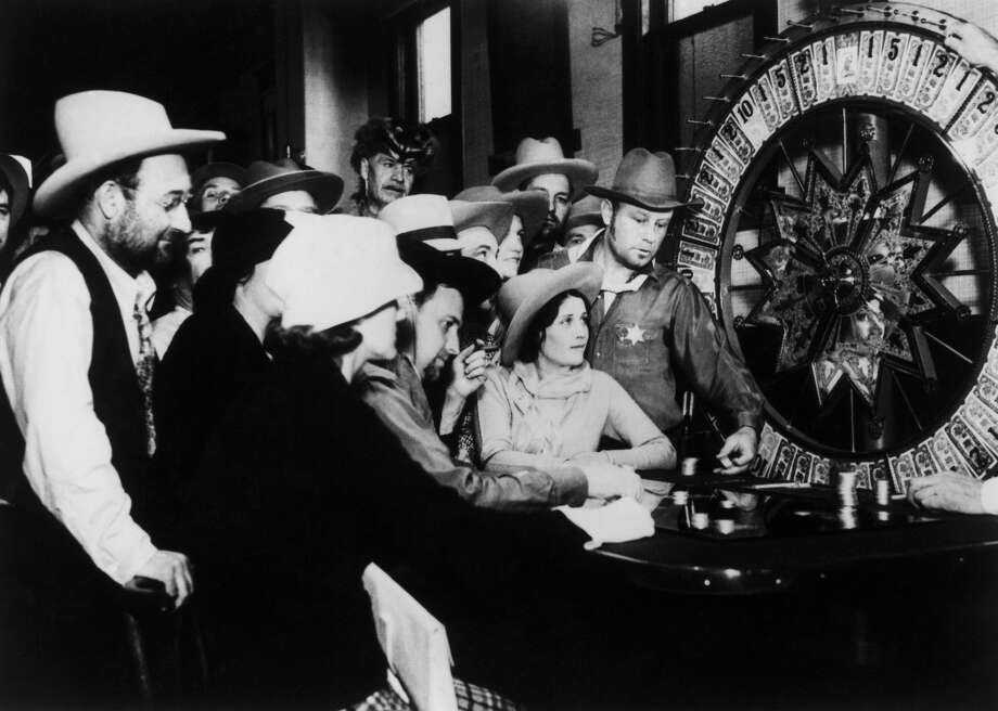 Las Vegas casino games in 1935. Photo: Keystone-France, Gamma-Keystone Via Getty Images