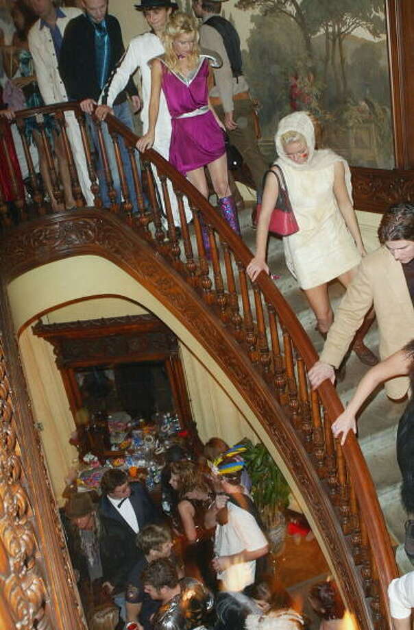 Oct. 31:  Everyone loves a good Halloween party. And what makes any party better? More people! Photo: Frazer Harrison, Getty Images / 2003 Getty Images
