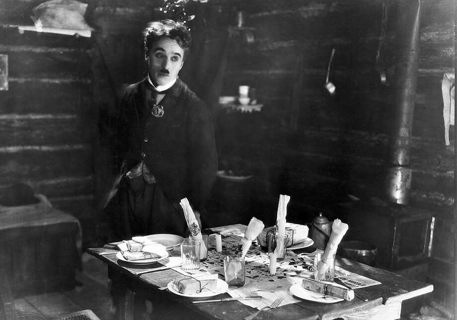 "Charlie Chaplin in ""The Gold Rush,"" where the Little Tramp travels to the Yukon to take part in the Klondike Gold Rush. Chaplin had said that this is the film he wanted to be remembered for. Photo: United Artists 1925"