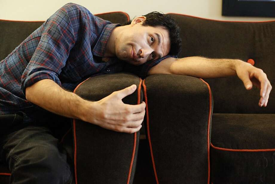 "Alex Karpovsky, best known for his role in ""Girls,"" is a multitalented star. Photo: Katie Meek, The Chronicle"