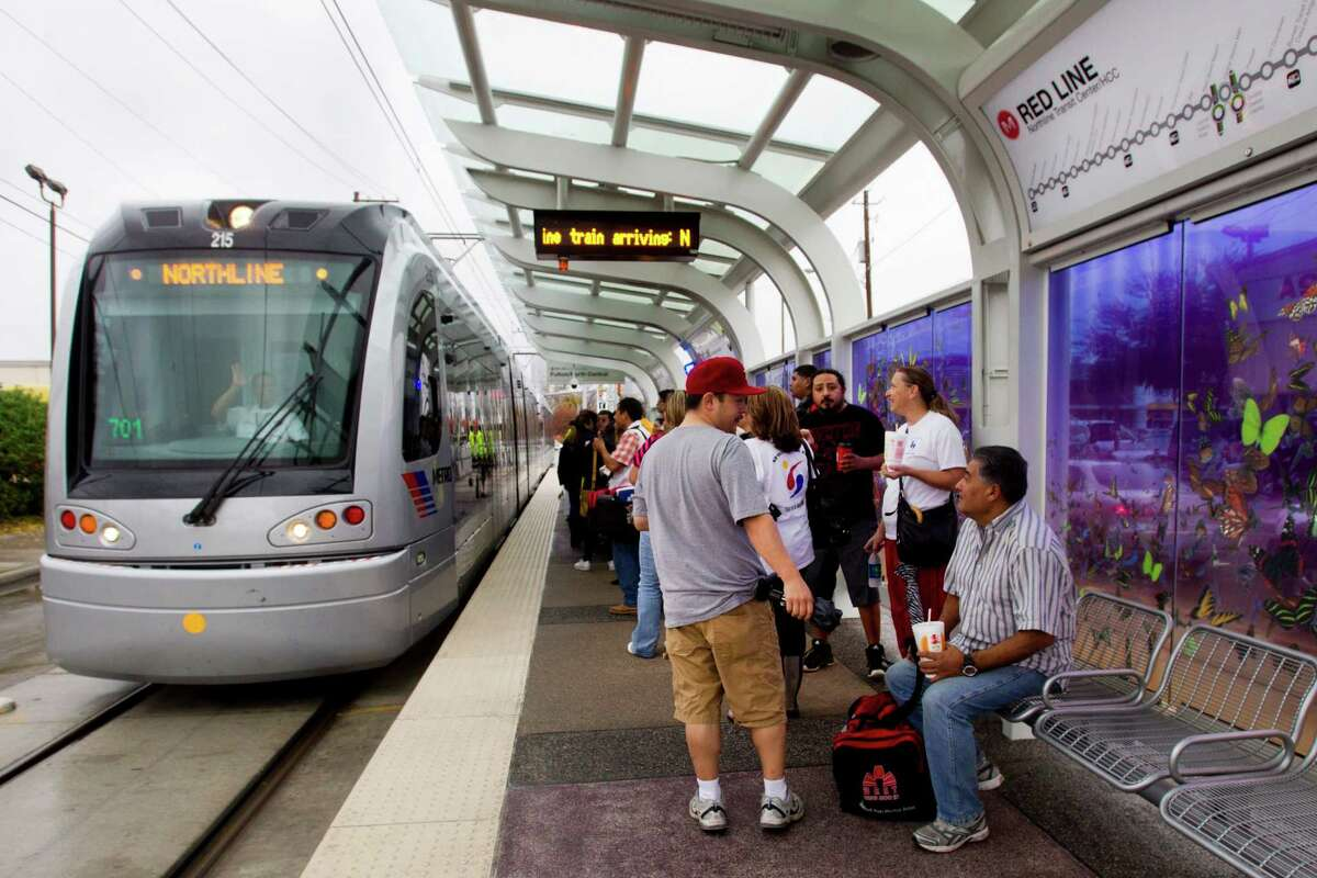 Metro's new Red Line extension, which opened Saturday, will be the subject of a four-year UT-A&M study designed to determine whether a mass transit project can improve the health of its users.