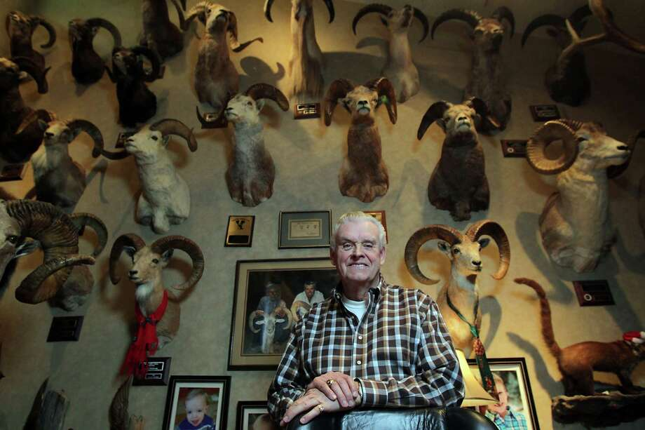 """To inveterate big-game hunter Gary Ingersoll, """"Hunting was always secondary to the adventure. It's a great way to see the world …"""" Photo: James Nielsen, Staff / © 2013  Houston Chronicle"""