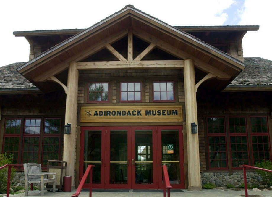 "** FOR IMMEDIATE RELEASE--FILE **The entrance to the Adirondack Museum in Blue Mountain Lake, N.Y. is shown in this May 22, 2003, file photo. The museum is featuring several new exhibits this year, including ""A Paradise for Boys and Girls: Children's Camps in the Adirondacks"" and an art exhibit titled ""Summering in the Adirondacks: The Artists' Views.""  (AP Photo/Tim Roske) Photo: TIM ROSKE / AP"