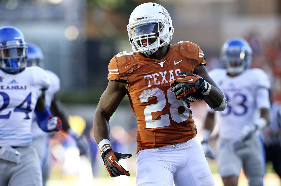 "Tailback and Steele product Malcolm Brown said ""a couple of missteps"" prevented UT from being among the nation's elite. Photo: Tom Reel / San Antonio Express-News"