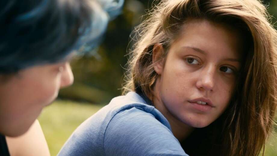 13. BLUE IS THE WARMEST COLOR: Adèle Exarchopoulos is on the screen constantly, and becomes increasingly captivating is this drama about two young lovers experiencing a life-altering sexual and personal exploration. Léa Seydoux is also excellent as Adele's lover Emma. Photo: France 2 Cinema