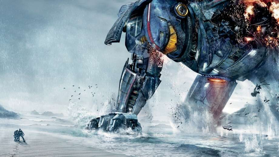 "5. PACIFIC RIM: Why didn't this monster-versus-robots epic make a billion dollars? The first 10 minutes are a better film than all of ""World War Z"" and ""Thor: The Dark World"" combined. I'll defend this pick to the grave. Photo: Legendary Pictures"
