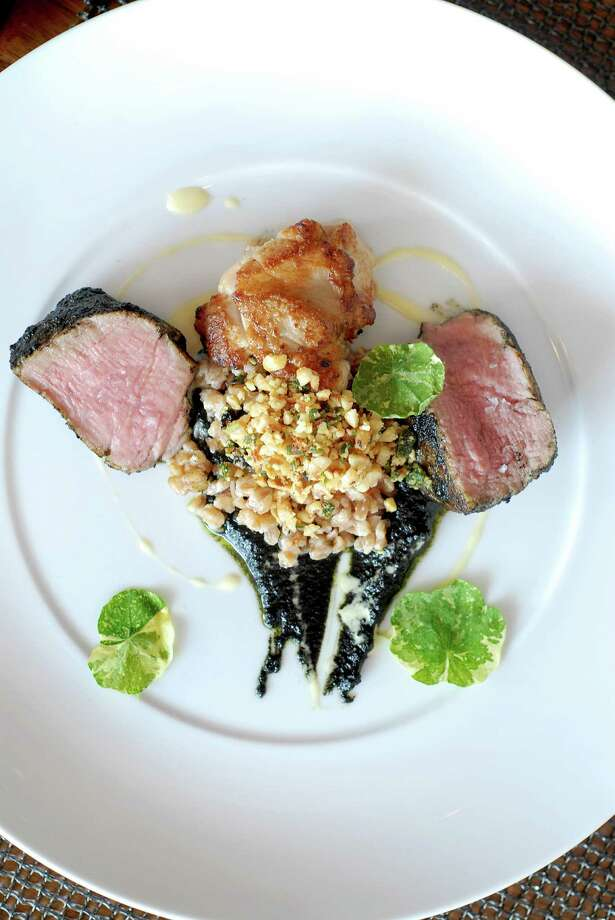 Elm Restaurant in New Canaan is offering five-course meals for $125 per person. You can add wine pairings to your meal for an additional $75. For details, visit http://www.elmrestaurant.com/ Photo: Dru Nadler, Ctpost / Stamford Advocate Freelance