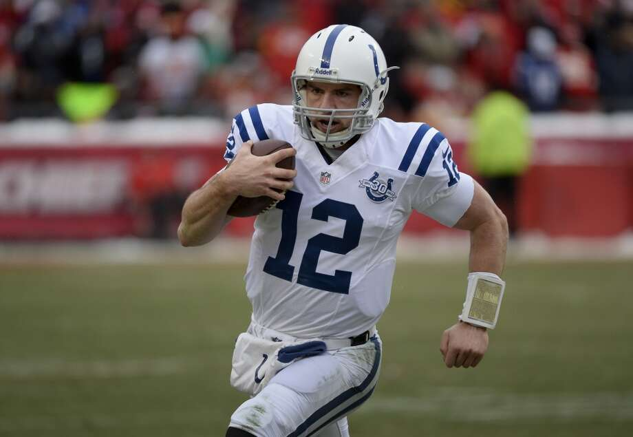 Jacksonville (4-11) plus-11 ½ at Indianapolis (10-5): Colts 28-19 Photo: Reed Hoffmann, Associated Press