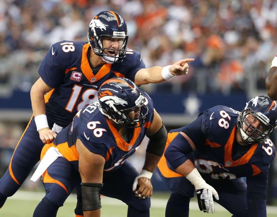 Denver (12-3) minus-12 at Oakland (4-11): Broncos 34-13 Photo: Sharon Ellman, Associated Press