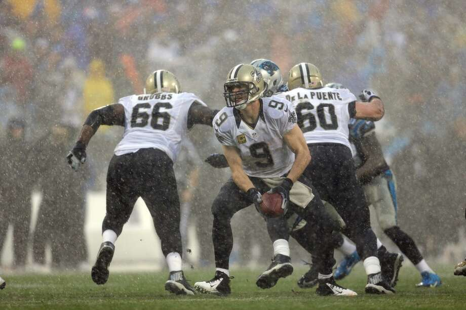 Tampa Bay (4-11) plus-12 ½ at New Orleans (10-5): Saints 33-17 Photo: Bob Leverone, Associated Press