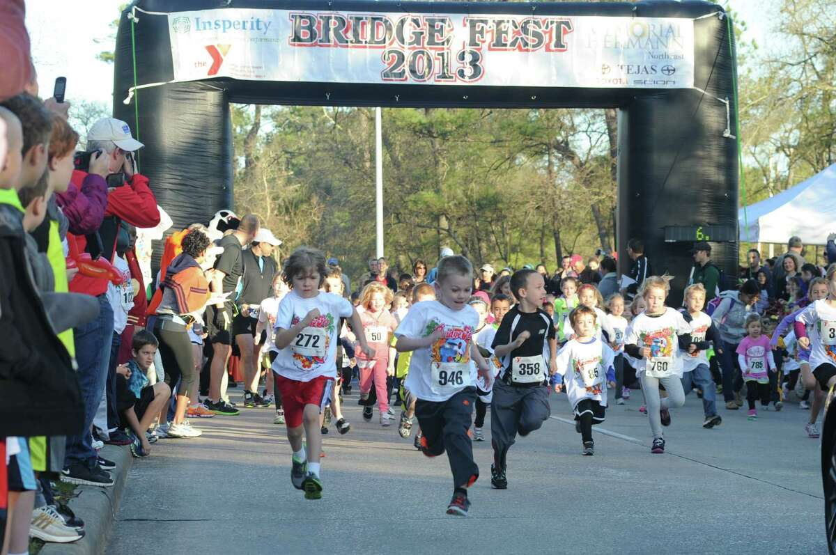The YMCA Bridge Fest 5K Fun Run and Walk offers a number of running events.