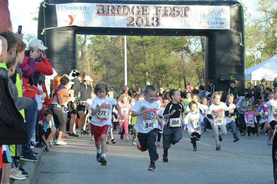 The YMCA Bridge Fest 5K Fun Run and Walk offers a number of running events. Photo: Lake Houston Family YMCA Photo