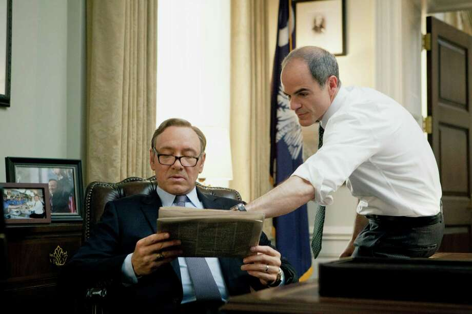 """House of Cards"": Feb. 14, Netflix Photo: MELINDA SUE GORDON / Melinda Sue Gordon / Knight Takes King Prod."