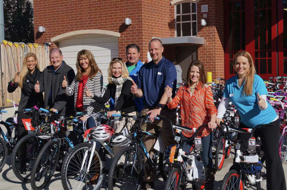 Waste Connections of Texas donated 622 bikes to area nonprofits through the Bike Build Project.