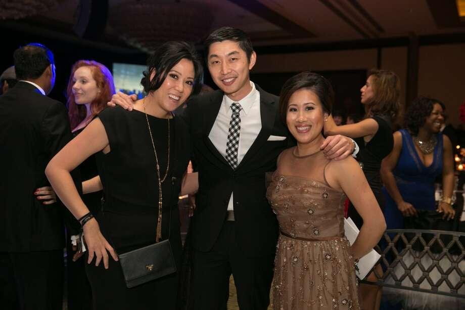 Joyce Armstrong, Ed Liu, Tania Chua