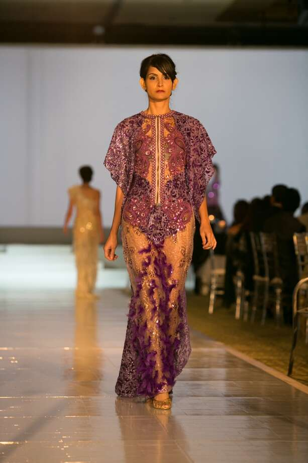 A look by Houston designer Danny Nguyen