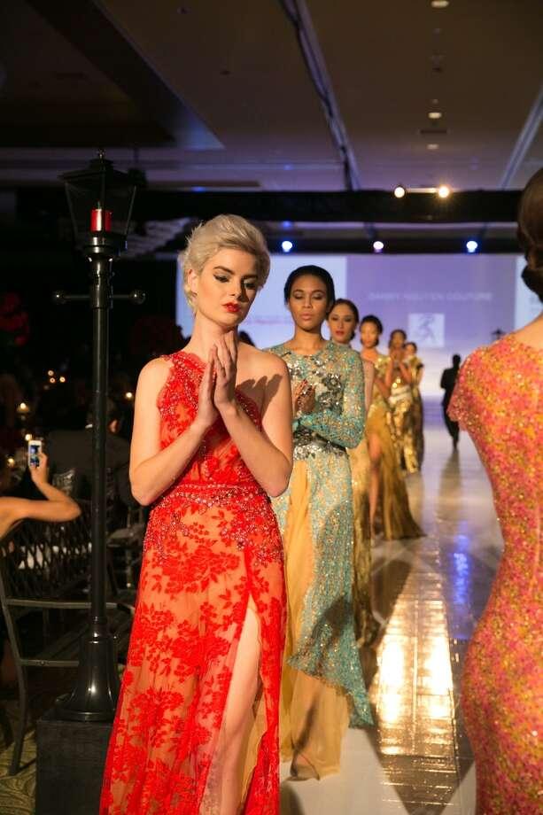 Danny Nguyen Couture  fashion show finale