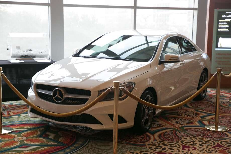 There was a raffle for a Mercedes Benz CLA