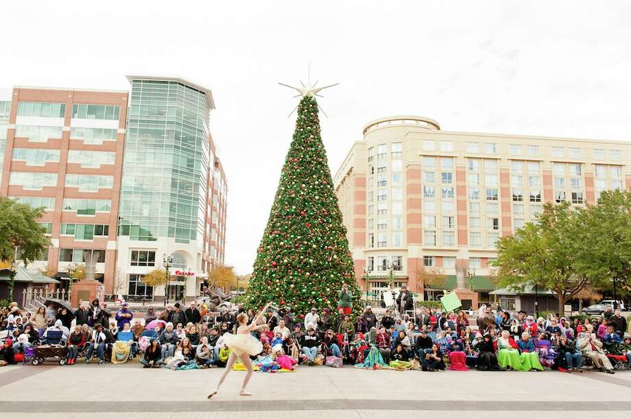 Visitors to the Sugar Land Town Square were treated to a holiday dance showcase. Photo: Courtesy Of The Sugar Land Town Square / ©Terry Halsey th@terryhalsey.com 832.248.6892