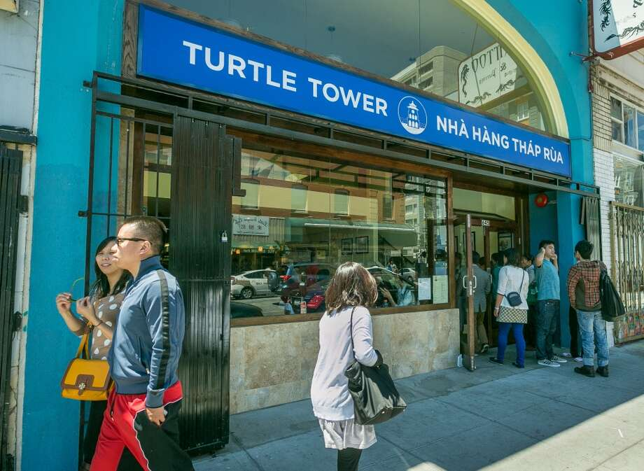 Turtle Tower (new Larkin Street location) Photo: John Storey, Special To The Chronicle