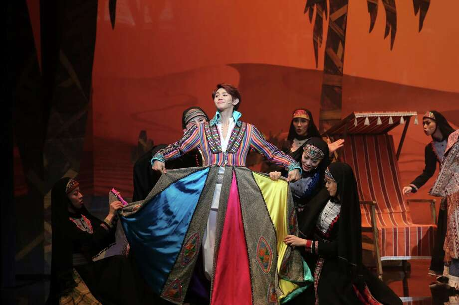 "K-pop singer Yang Yoseop takes on the title role in  the Korean version of the musical ""Joseph and the Amazing Technicolor Dreamcoat."" Photo: LIVE&COMPANY, HO / ONLINE_YES"
