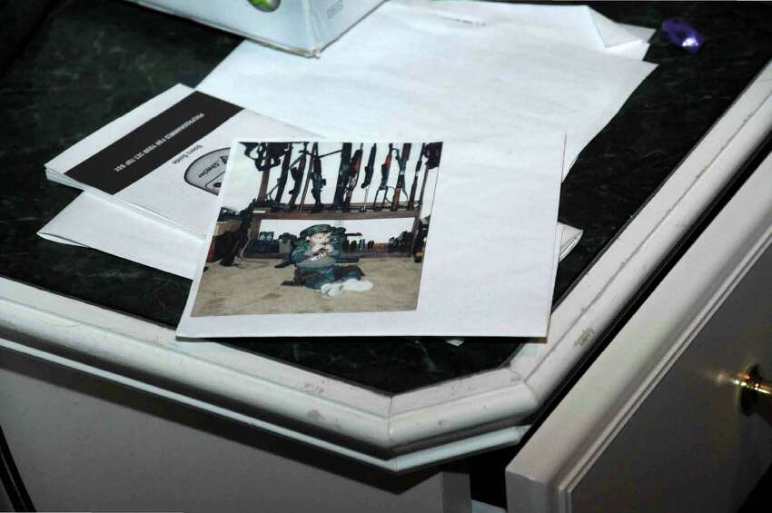 Photographs from the Lanza home on Yogananda Street in Newtown, Conn. from the Sandy Hook Elementary School shooting reports released by the Connecticut State Police on Friday, Dec. 27, 2013