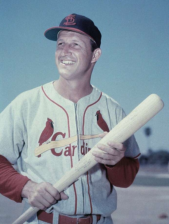 Stan Musial, 1920-2013: A career Cardinal and one of the greatest hitters in baseball history, he died on Jan. 19 at the age of 92. Photo: Anonymous, Associated Press